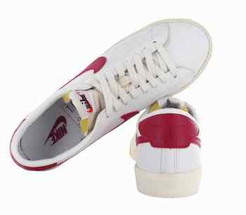 Nike Blanche Et Rouge