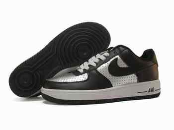Air Force One Chaussure Noir Et Blanc