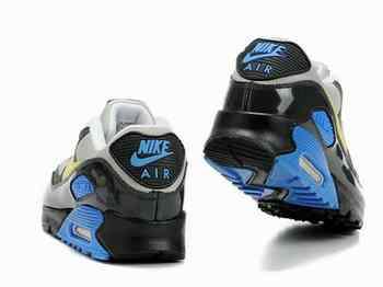 nike joga bonito - Chaussures Nike Air Max 90 Blanc-Bleu/ Gris/ Noir/ Jaune ...