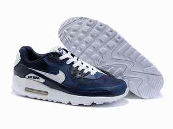 best website 89296 5e328 Chaussures Nike Air Max 90 Bleu  Blanc
