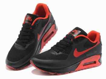 Nike Air Max 90 Noir Et Rouge