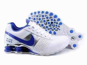 Nike Shox Bleu Blanc