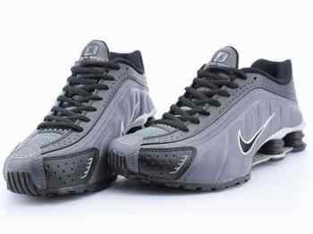 Nike Shox Grise Et Verte