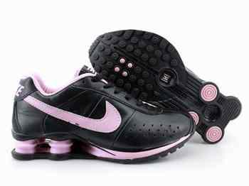 Nike Shox Femme Noir Et Rose