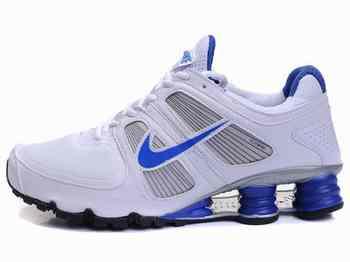 Nike Shox Gris Bleu